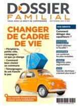 Dossier Familial – Septembre 2021