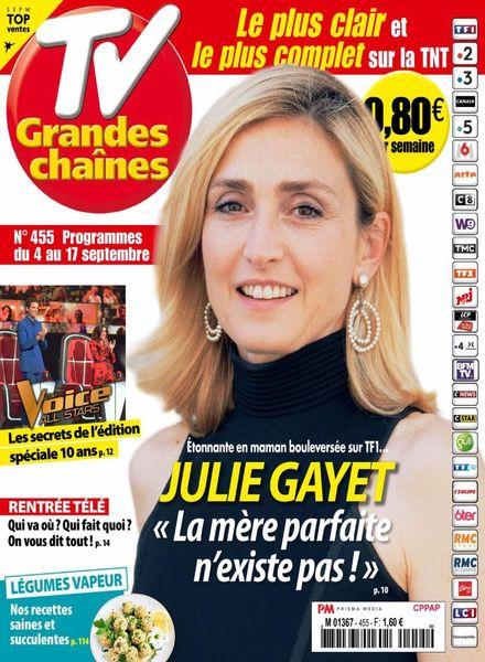 TV Grandes chaines – 4 Septembre 2021