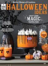 BH&G 100 Best Halloween Ideas – August 2021