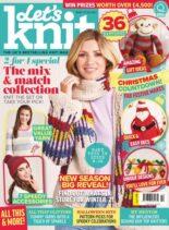 Let's Knit – September 2021