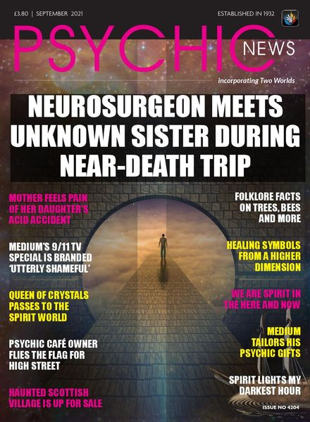 Psychic News – Issue 4204 – September 2021