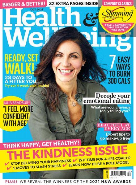 Health & Wellbeing – October 2021