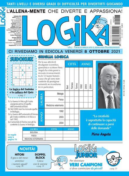 Settimana Logika – 10 settembre 2021