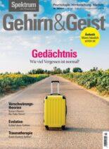 Spektrum – Gehirn&Geist – 03 September 2021