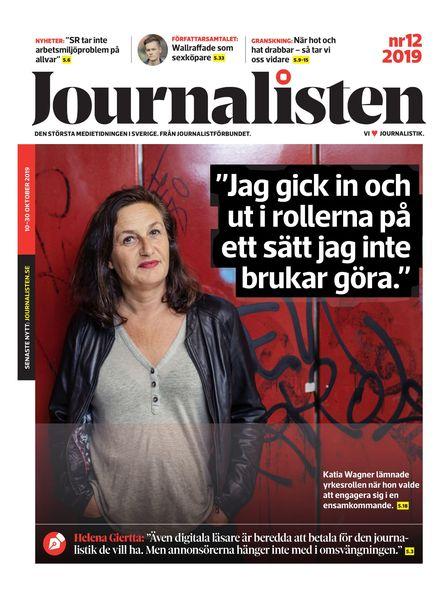 Journalisten – 10 oktober 2019