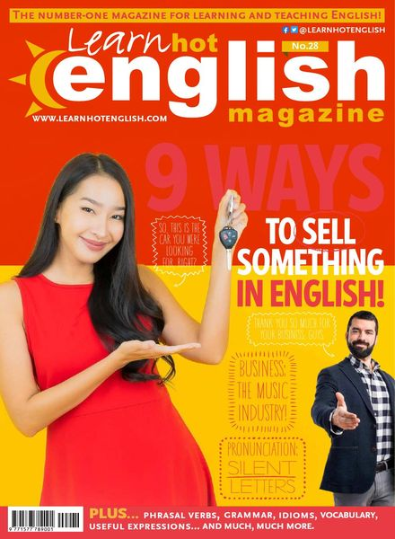 Learn Hot English – Issue 232 – September 2021
