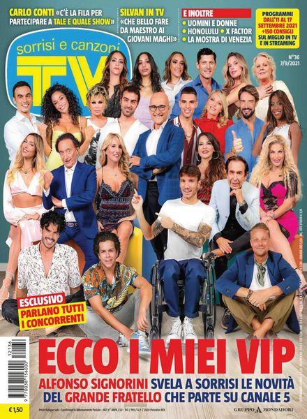 TV Sorrisi e Canzoni – 06 settembre 2021