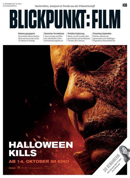 Blickpunkt Film – 08 September 2021