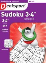 Denksport Sudoku 3-4 kampioen – 09 september 2021