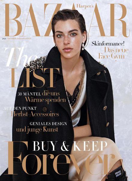Harper's Bazaar – Oktober 2021