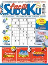Facili Sudoku – settembre 2021