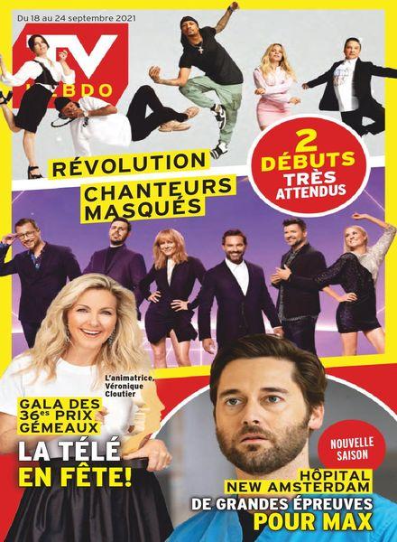 TV Hebdo – 18 septembre 2021