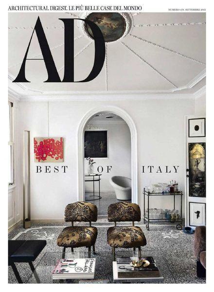 AD Architectural Digest Italia – settembre 2021