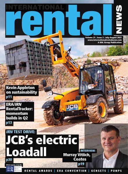 International Rental News – July-August 2021