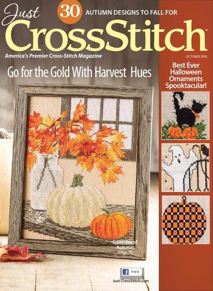 Just CrossStitch – October 2016