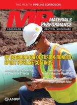 Materials Performance – August 2021