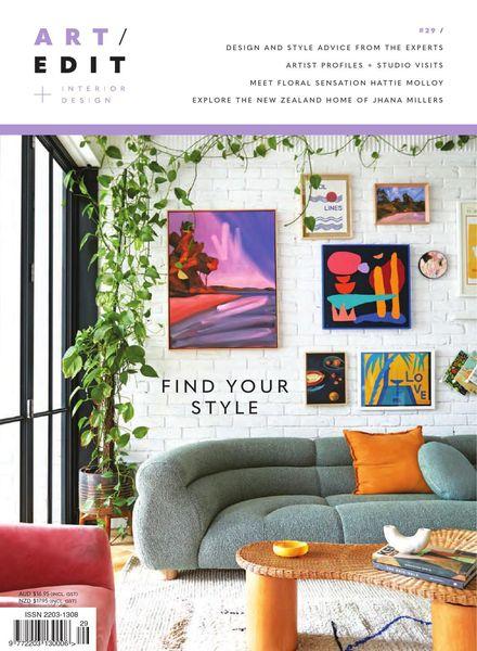 Art Edit – Issue 29 – September 2021