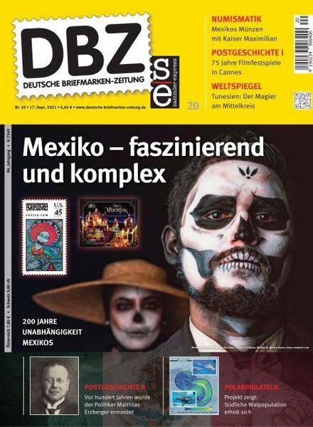 Deutsche Briefmarken-Zeitung – 17 September 2021
