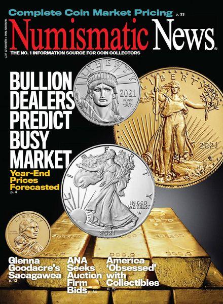 Numismatic News – September 28, 2021
