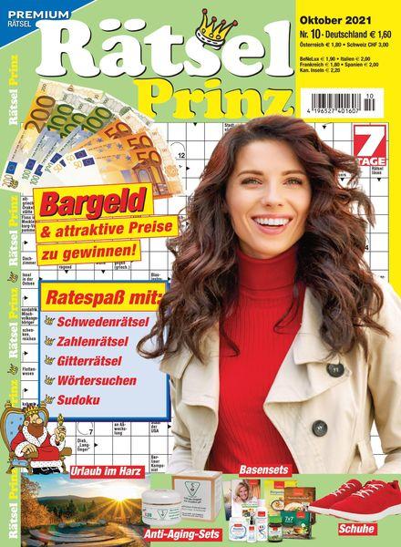 Ratsel-Prinz – 01 September 2021