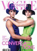 Vogue Hommes – septembre 2021
