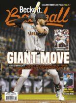 Beckett Baseball – October 2021