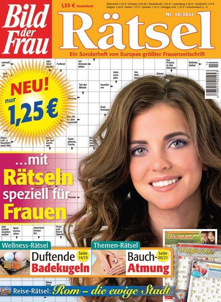 Bild der Frau Ratsel – Oktober 2021