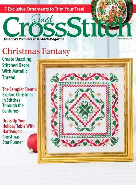 Just CrossStitch – December 2018