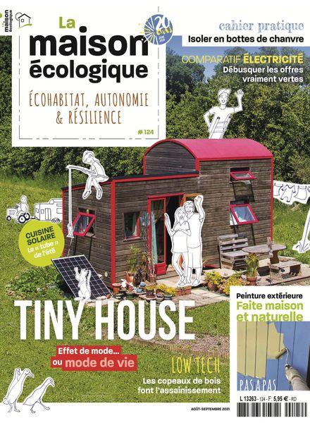 La maison ecologique – Aout-Septembre 2021