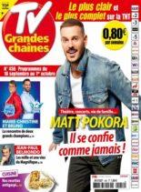 TV Grandes chaines – 18 Septembre 2021