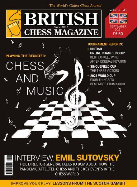 British Chess Magazine – September 2021