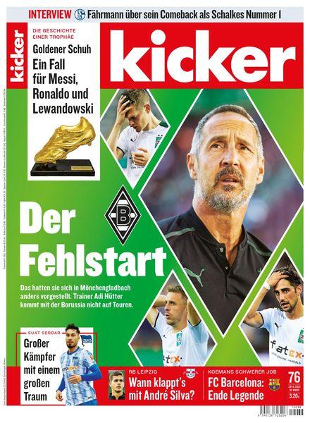 Kicker – 20 September 2021