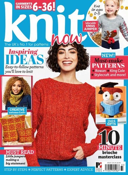 Knit Now – Issue 133 – September 2021