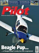 Pilot – October 2021