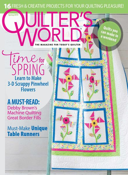 Quilter's World – Spring 2019