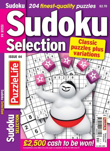 Sudoku Selection – September 2021