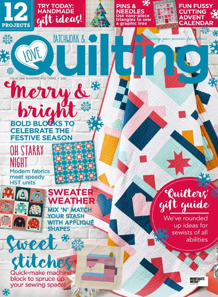 Love Patchwork & Quilting – November 2021