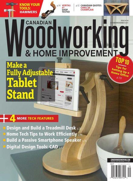 Canadian Woodworking & Home Improvement – October-November 2021