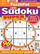 PuzzleLife PuzzlePad Sudoku Super – 09 September 2021