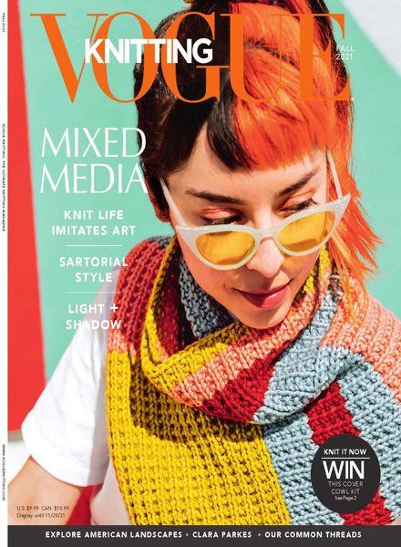Vogue Knitting – August 2021