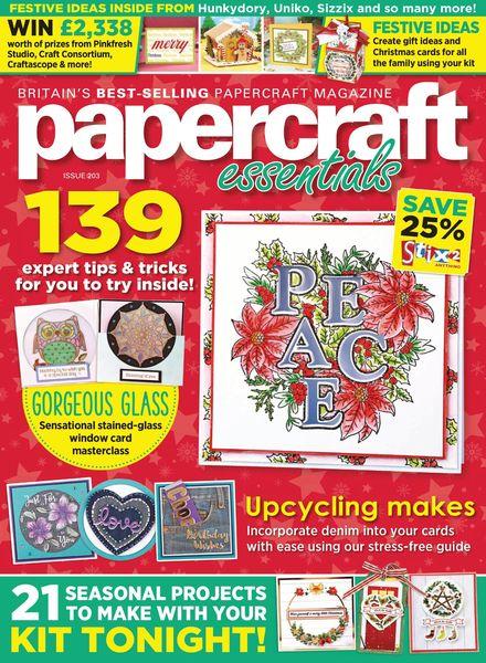 Papercraft Essentials – October 2021