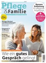 Pflege und Familie – Oktober 2021