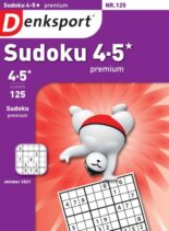 Denksport Sudoku 4-5 premium – 30 september 2021
