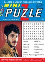 Mini Puzzle – 08 ottobre 2021