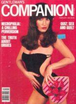 Gentleman Companion – February 1981