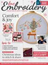 Love Embroidery – Issue 19 – October 2021