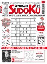 Settimana Sudoku – 06 ottobre 2021