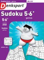 Denksport Sudoku 5-6 genius – 07 oktober 2021