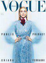 Vogue Italia – Ottobre 2021
